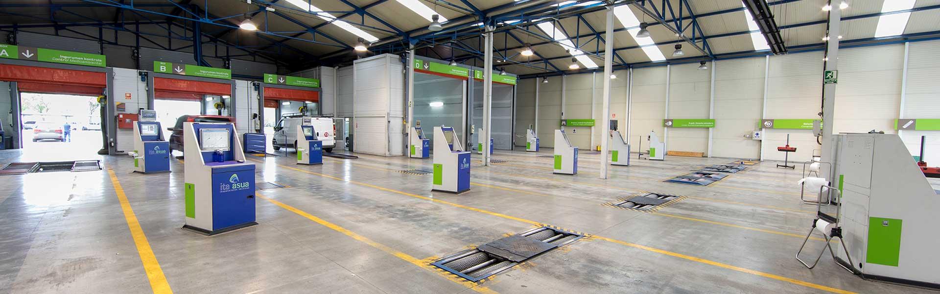 ITA ASUA - Inspecciones Técnicas de Vehículos - ITV País Vasco (Bergara - Jundiz)